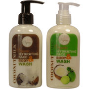 Organic Hydrating Face & Body Wash - Time Gods