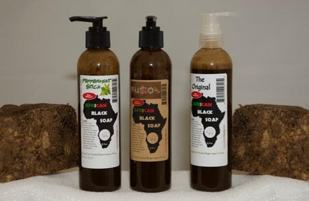 Liquid African Black Soap - Time Gods