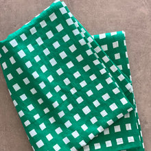 Gingham in Green Runner