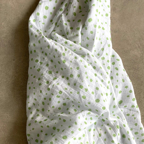 Pebble Baby Swaddle in Pistachio