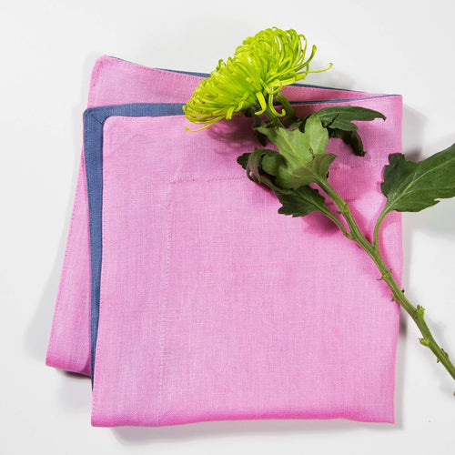 Paper Daisy Pink Napkin - SET OF FOUR