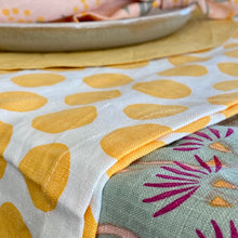 Polka Dot in Yellow Runner