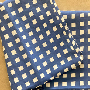 Gingham in Navy Runner