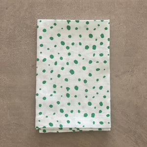 Pebble Print in Green Napkin - SET OF FOUR