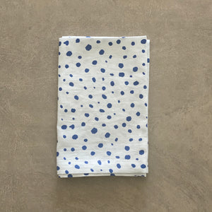 Pebble Print in Navy Napkin - SET OF FOUR