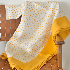 Pebble Tablecloth in Sunshine Yellow