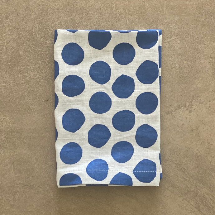 Polka Dot in Navy Napkin - SET OF FOUR