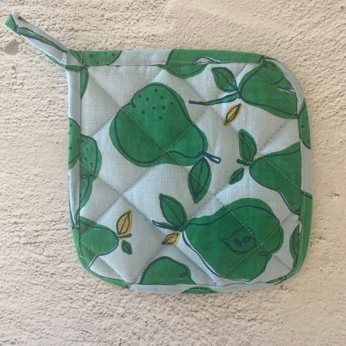 Pear Pot Holders