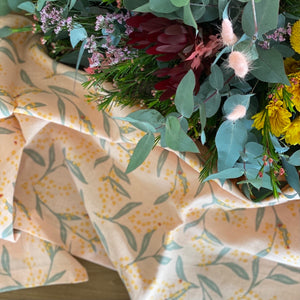 I'm not Perfect - Flowering Wattle Table Runner