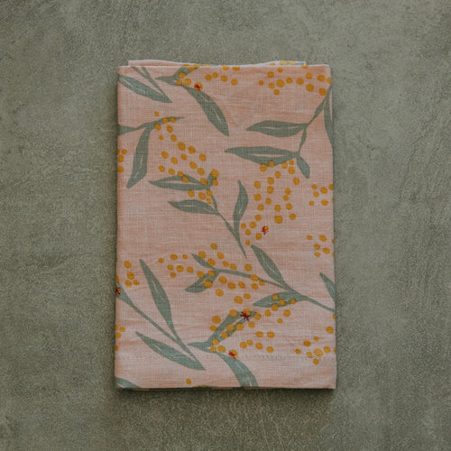 I'm not Perfect - Flowering Wattle Napkin - SET OF FOUR