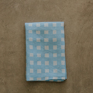 Gingham in Chambray Napkin -  SET OF FOUR