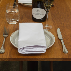 Limited Release White Cotton Napkins - SET OF SIX