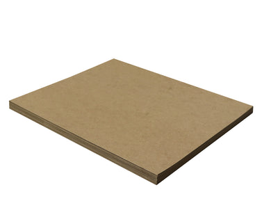 25 Sheets Chipboard 11 x 14 inch - 22pt (point) Light Weight Brown Kraft Cardboard Scrapbook Sheets & Picture Frame Backing Paper Board