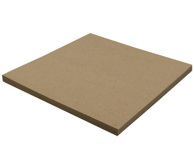 25 Sheets Chipboard 12 x 12 inch - 22pt (point) Light Weight Brown Kraft Cardboard Scrapbook Sheets & Picture Frame Backing Paper Board