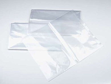 6x12-2 mil 100 Pack Clear Plastic Reclosable Single Zip Poly Bag Hang Hole
