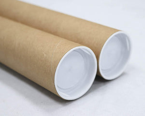 Mailing Tubes with Caps, 2 inch x 30 inch (2 Pack) | MagicWater Supply