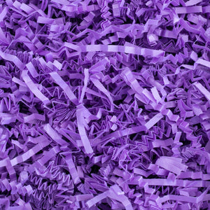 Crinkle Cut Paper Shred Filler (1 LB) for Gift Wrapping & Basket Filling - Purple | MagicWater Supply