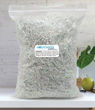 Crinkle Cut Paper Shred Filler (1/2 LB) for Gift Wrapping & Basket Filling - Diamond White | MagicWater Supply