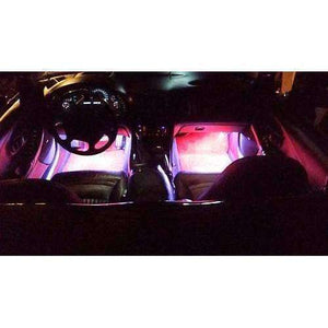 1997-2013 C6 C5 CORVETTE FOOTWELL LED KIT COMES WITH 2 LED STRIPS-Corvette Solution