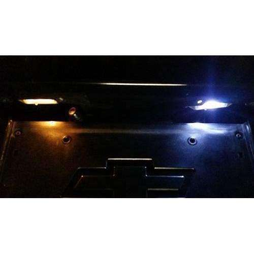 C5 C6 C7 Corvette Licence plate Led Lights (2) Bright vivid Colors-Corvette Solution