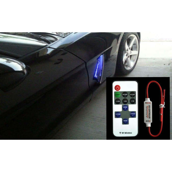 C6 Chevy Corvette Side Cove led Lights Kit Stand out from the Rest.-Corvette Solution