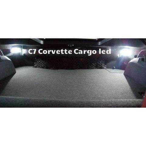 C7 Corvette cargo led integration (2) Bright vivid Colors Led Light-Corvette Solution