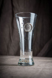 Pilsner with Pewter Initial