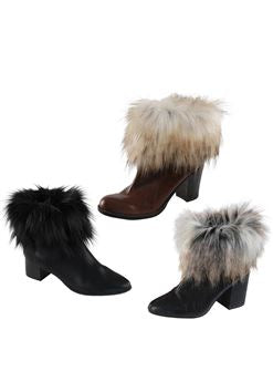 Fabulous Furs Wild Faux Fur Boot Toppers, Set of Three