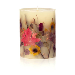 Pumpkin Cardamom Medium Round Botanical Candle