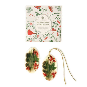 Rosy Rings - Red Currant & Cranberry Botanical Wax Sachets