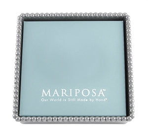 Mariposa Beaded Napkin Box