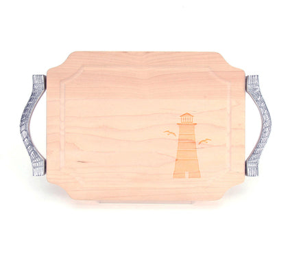 Personalized Scalloped Cutting Board
