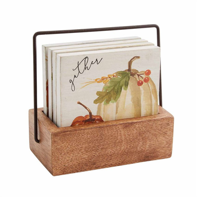 Fall Themed Wood Coasters