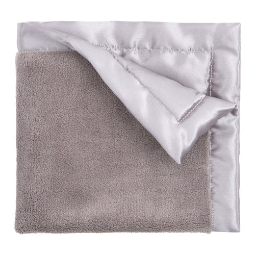 Grey Fleece Baby Blanket