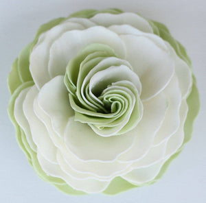 A'marie's Bath Flower Shop - Dewy Gardens Petal Soap Flower