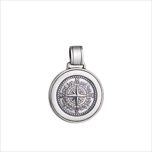 Colby Davis Pendant Medium Compass Rose