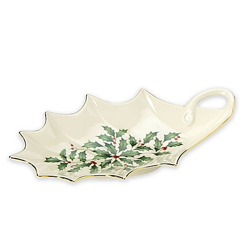 Lenox Holiday Archive Leaf Dish