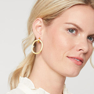 Julie Vos Aspen Door Knocker Earring