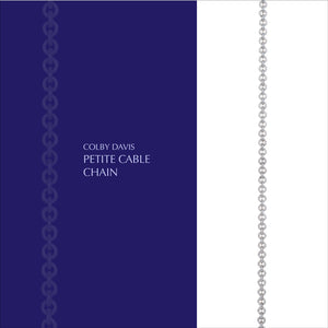 Colby Davis Chain, Petite Cable