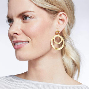 Julie Vos Crescent Statement Earring