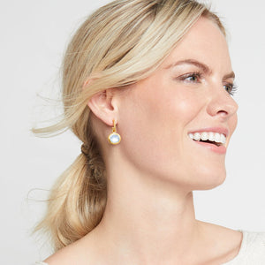 Julie Vos Calypso Hoop & Charm Earring~New Color For 2021!