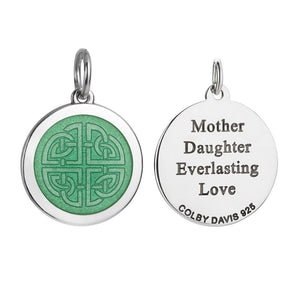 Colby Davis Pendant Small Mother Daughter Knot