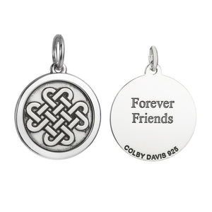 Colby Davis Pendant Medium Friendship Knot