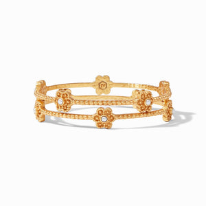 Julie Vos Colette Pearl Bangle~New For Spring 2021!