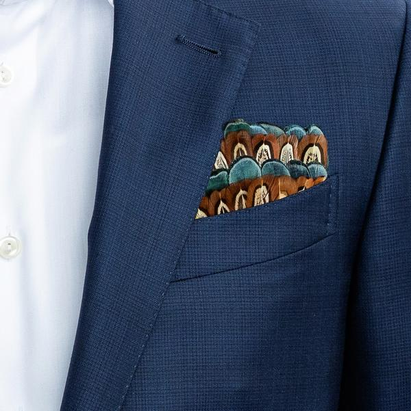 Brackish Constan Pocket Square
