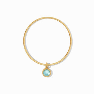 Julie Vos Fleur-de-Lis Bangle Bracelet~New For Spring 2021!