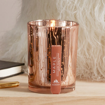 Thymes Forest Maple Poured Candle