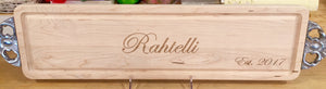 Personalized Bread Cutting Board