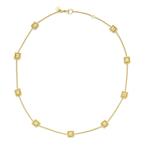 Julie Vos Isabel Delicate Station Necklace