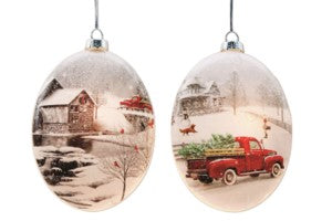 Lighted Ornaments, Assorted
